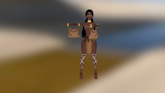 Nyx 3D Model