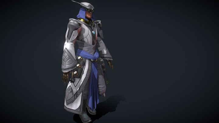 Keeper of Knowledge suit, Skyforge 3D Model