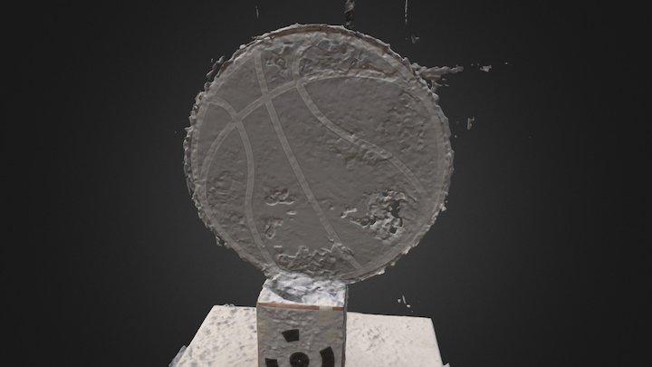 Trophy Header 3D Model