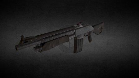 Two:31 Shotgun 3D Model