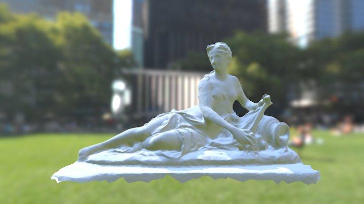 Louvre Sculpture 3D Model