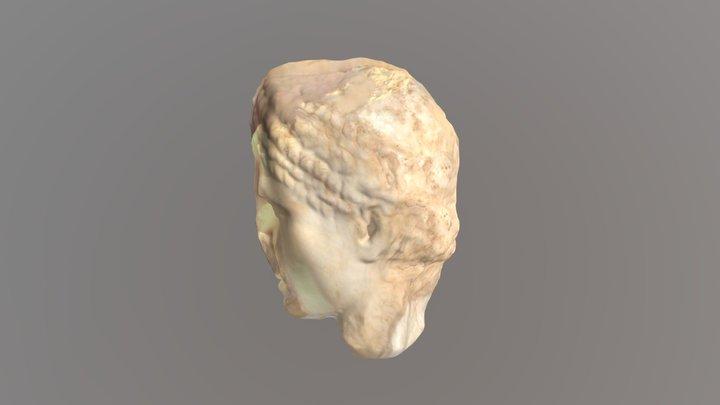 Escultura de cabeza de Diana 3D Model