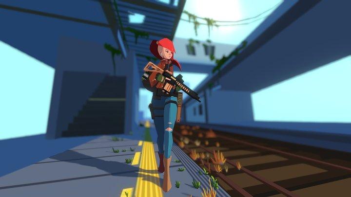 Wang Dada Character 3D Model