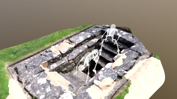 Ghostly Holy Well 3D Model