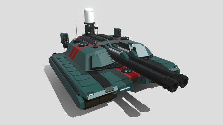 Behemoth Tank 3D Model