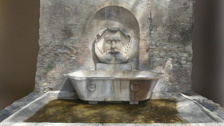 Fontana del Mascherone, Santa Sabina, Roma 3D Model