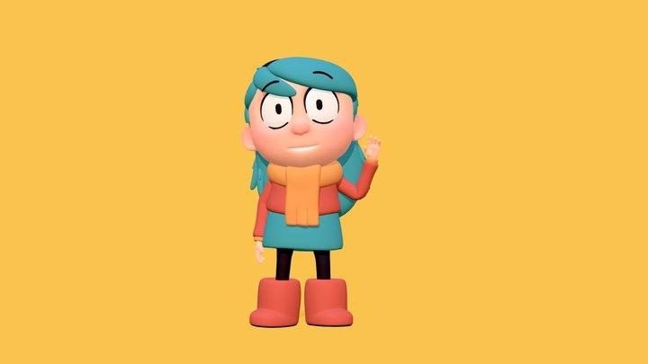 Hilda [fanart] 3D Model