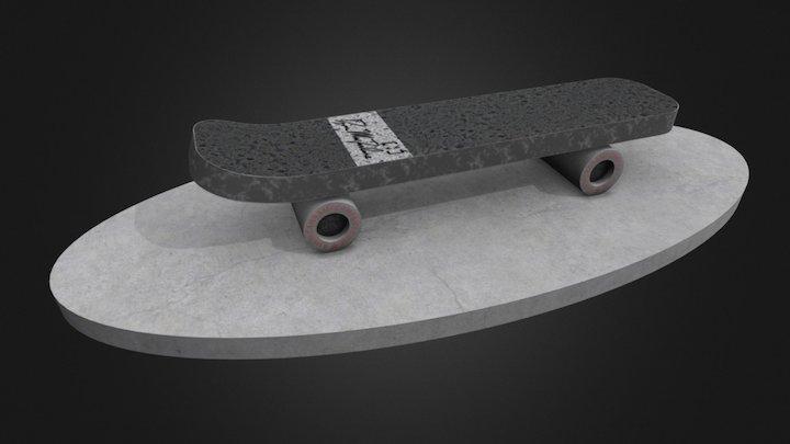 """Dan MacFarlane's """"Old Skool Bench"""" 3D Model"""