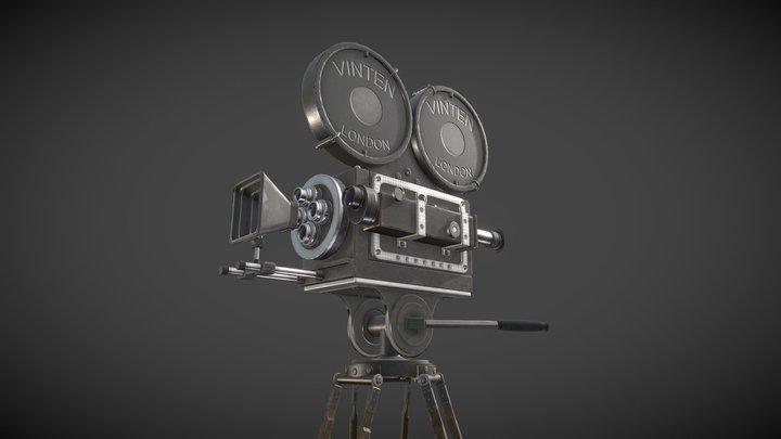 Film Camera 1930's 3D Model
