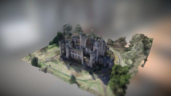 Abandoned Lennox Castle Hospital 3D Model