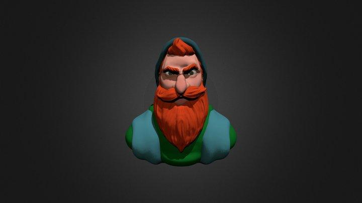 Dominic. 3D Model