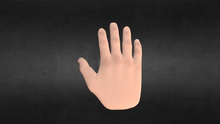 Hand Model 3D Model