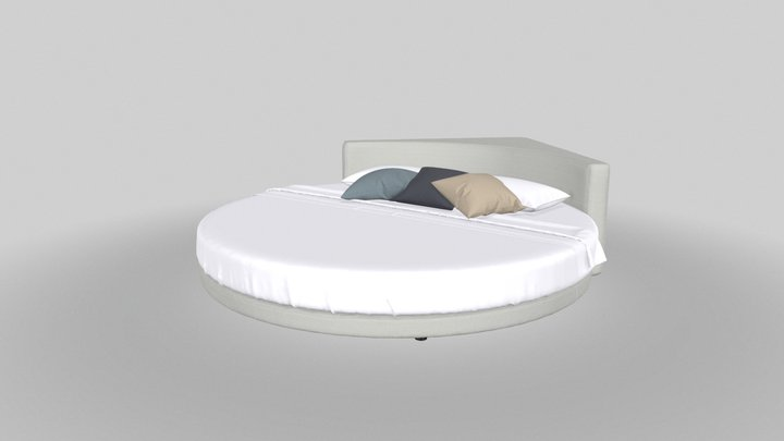 Wheel - bed 3D Model