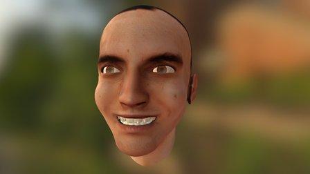 Realistic Face Model 3D Model