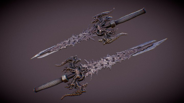 Skeleton key blade 3D Model