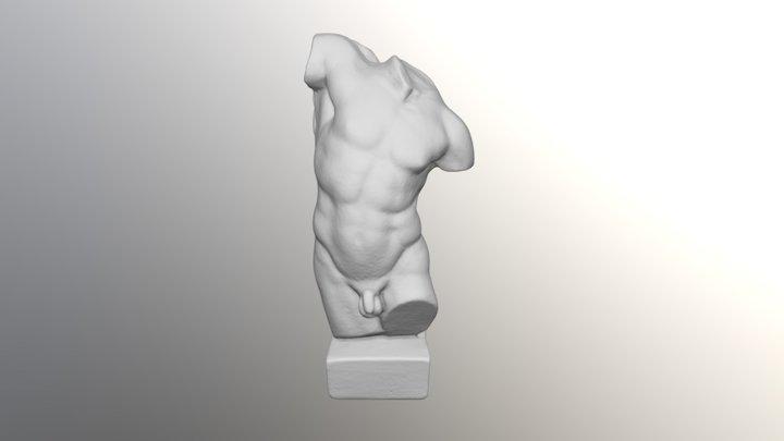 Torso de Hércules 3D Model