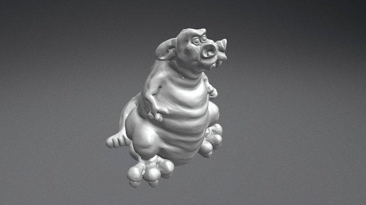 Vincent - The YOUto3D Dragon 3D Model