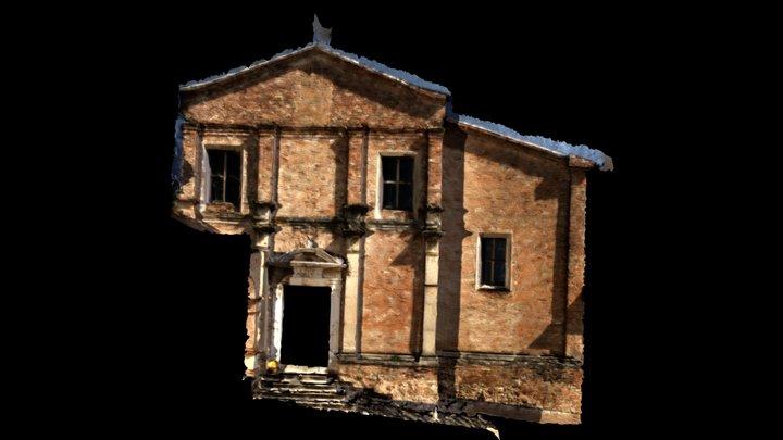 Facciata San Fortunato Low 3D Model