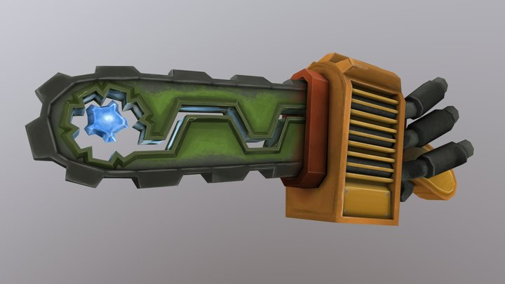 World of WeaponCraft, stihlizz's chainsaw 3D Model