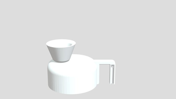 Anti-Gas Kettle 3D Model