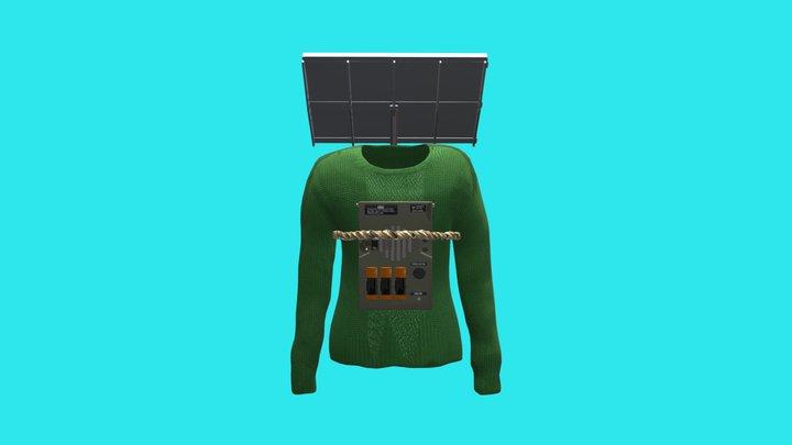Energy Sweater 3D Model