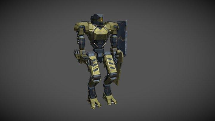 Robot Zer-0 3D Model
