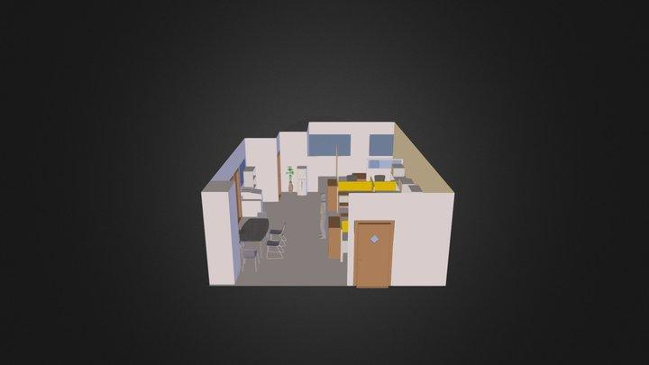 Logistics Layout 3D Model