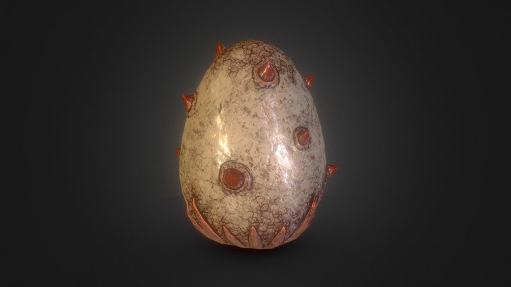 Dragon Egg - 13 3D Model