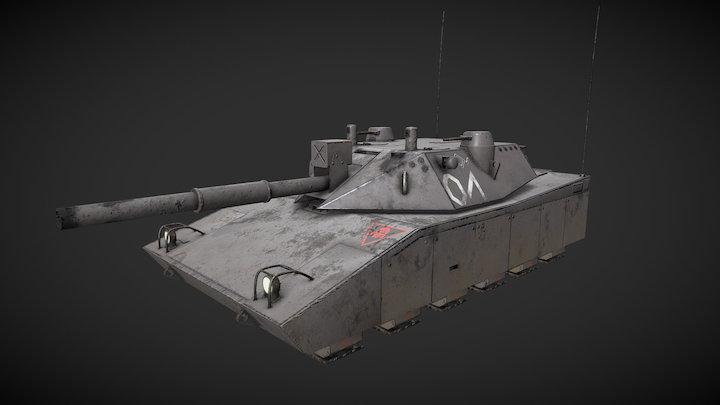 60T Lion 3D Model