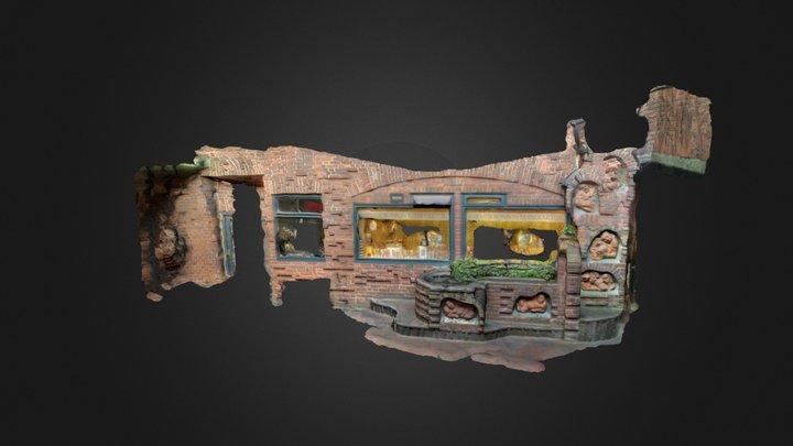 Well and Bonbon shop in Bremen 3D Model