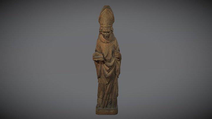 Skulptur Ullrich von Augsburg 3D Model