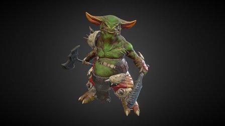Goblin Elf 3D Model
