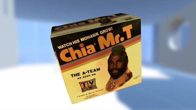 Mr T Chia Box 3D Model