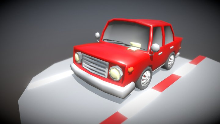 Parking ticket 3D Model