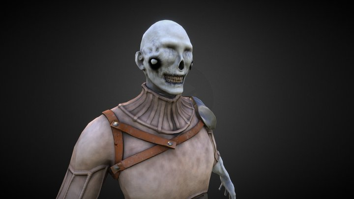 Paleknight 3D Model