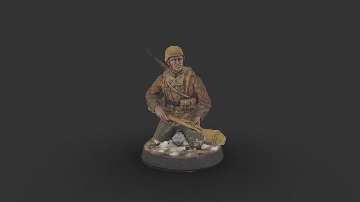 German 1945 berlin 3D Model