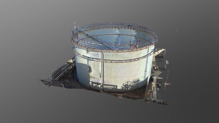 Tanque-cloud 3D Model