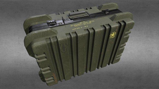 Grenade Suitcase 3D Model