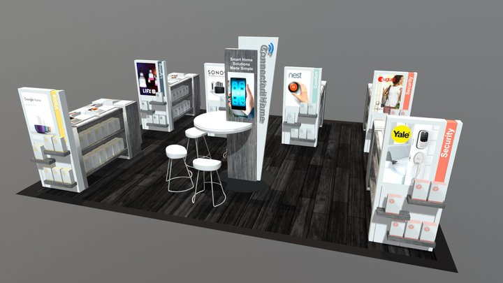 Home Automation Experience at Retail 3D Model