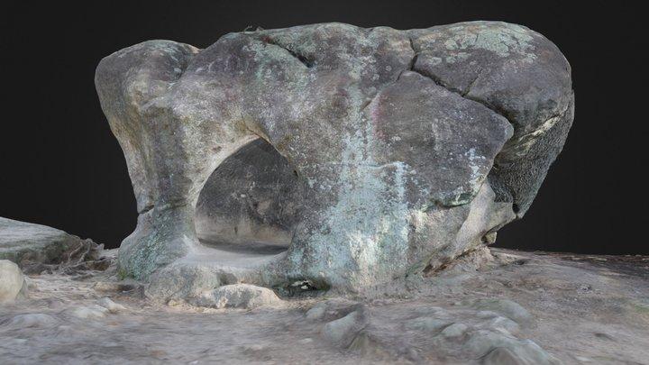 La Roca Foradada 3D Model
