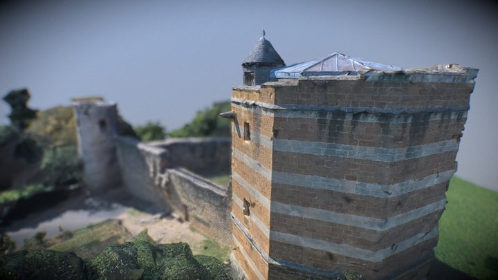 Château de Trévoux 3D Model