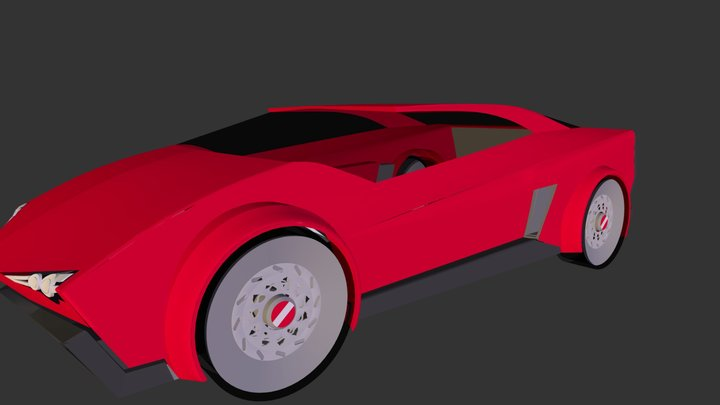 Ducati render1.3ds 3D Model