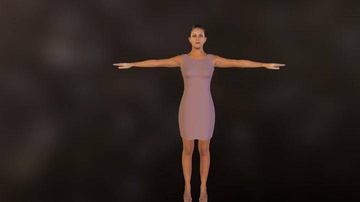 .demo_clothed_pink.zip 3D Model