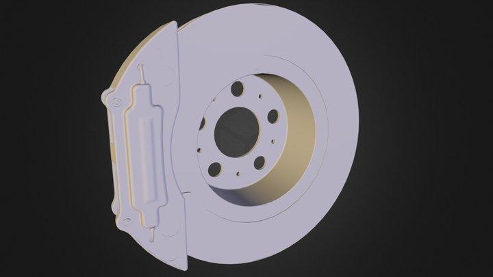 Auto_brake_disk_cast.obj 3D Model