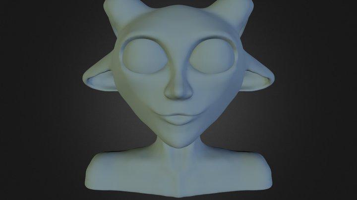 Creature/Character Creation w/ Sculptris & C4D 3D Model