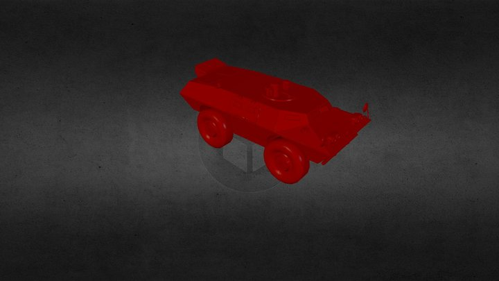 Cadillac Gage V 100/V150(MIX) Comanndo 3D Model
