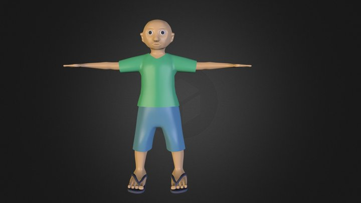steeve 3D Model