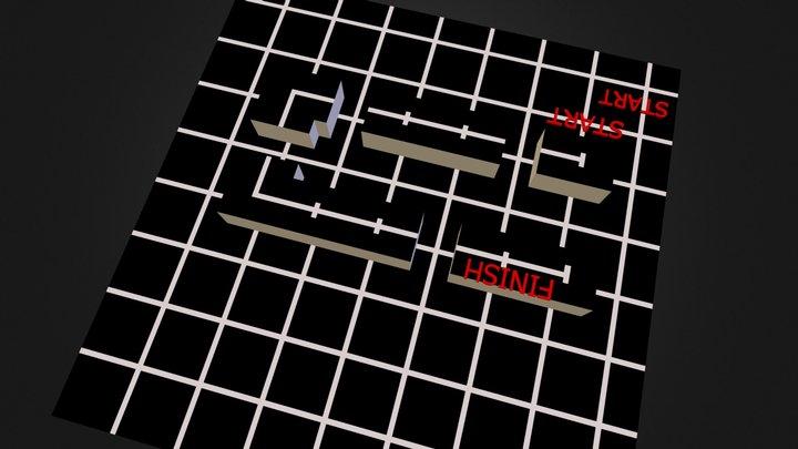 Across Round 1 arena 3D Model