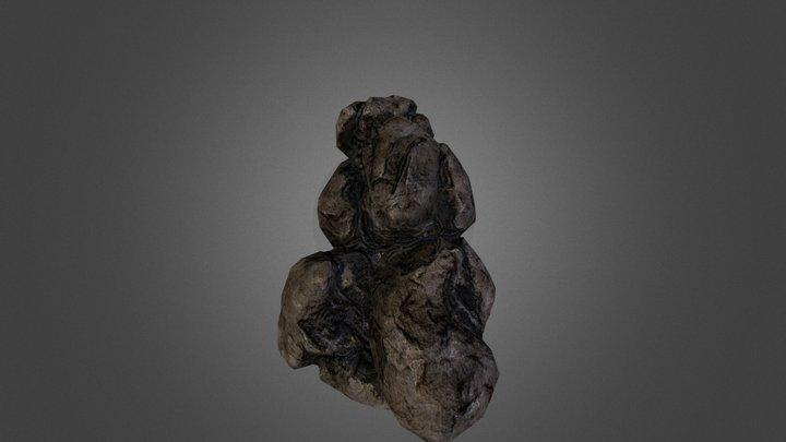 Rock Tower 3D Model
