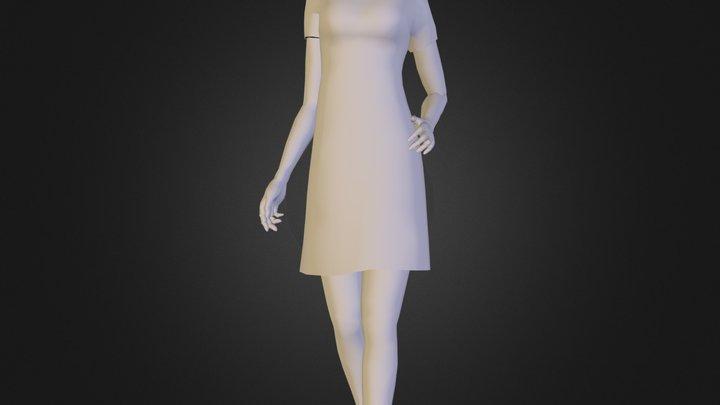 Citizen Extras_Female 02.dae 3D Model